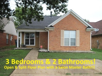 Southaven Single Family Home For Sale: 1096 W E Ross