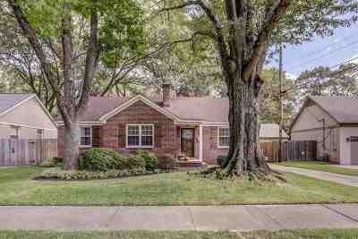 Memphis Single Family Home Contingent: 24 Normandy