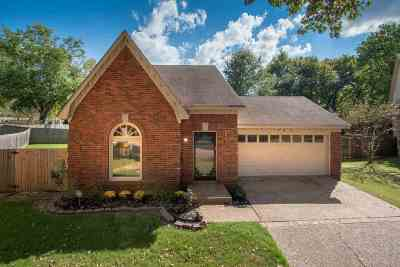 Collierville Single Family Home Contingent: 361 Booth