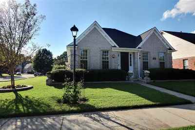 Collierville Single Family Home Contingent: 4655 Park Side
