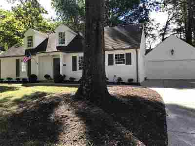 Memphis Single Family Home For Sale: 4467 Sequoia