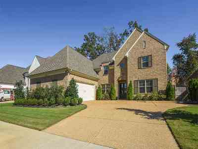 Collierville Single Family Home For Sale: 3418 Village Cross