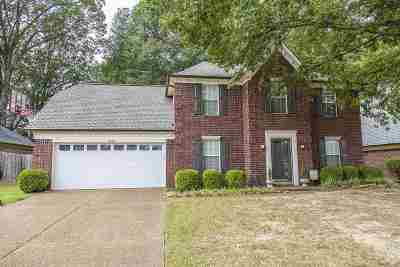 Collierville Single Family Home Contingent: 1455 Wolf Pack