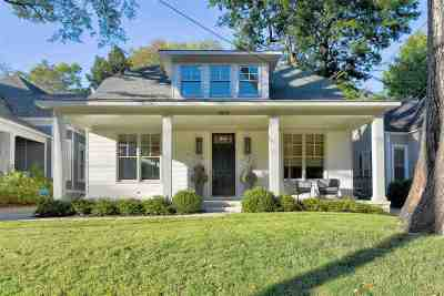 Memphis Single Family Home For Sale: 1804 Linden