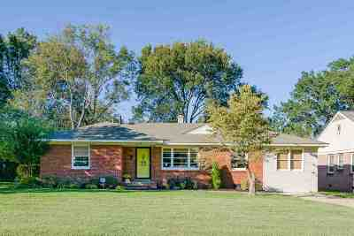Memphis Single Family Home Contingent: 5008 Normandy