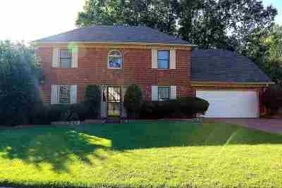 Memphis Single Family Home For Sale: 2631 Morning Grove