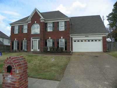 Memphis Single Family Home For Sale: 8992 Dewberry