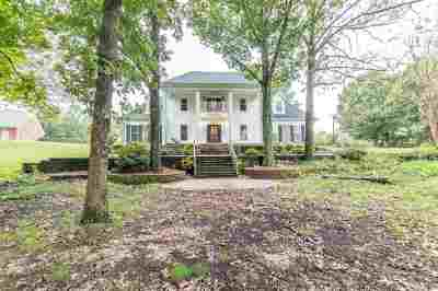 Olive Branch Single Family Home For Sale: 5105 S Forest Hill