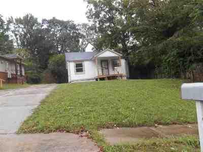 Memphis Single Family Home For Sale: 1911 The Oaks