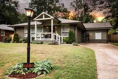 Memphis Single Family Home For Sale: 4680 Crossover