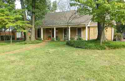 Germantown TN Single Family Home For Sale: $299,900
