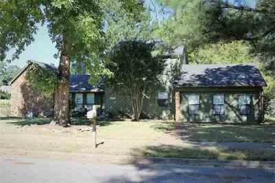 Memphis TN Single Family Home For Sale: $180,000