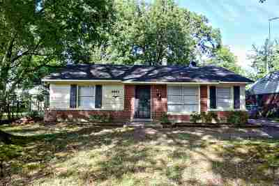 Memphis TN Single Family Home Contingent: $69,900