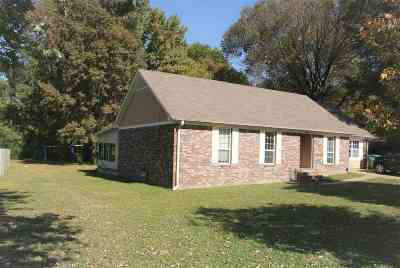 Atoka Single Family Home For Sale: 580 Kimbrough