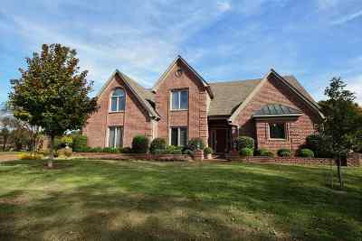 Collierville Single Family Home For Sale: 10382 Crenshaw View