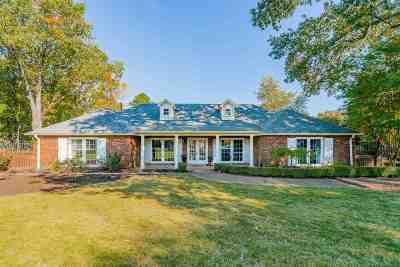 Memphis Single Family Home Contingent: 2062 Fox Run