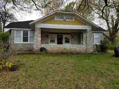 Single Family Home For Sale: 1407 Lamar