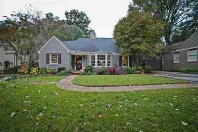 Memphis Single Family Home For Sale: 493 Williamsburg