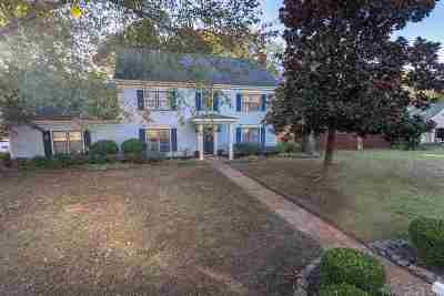Collierville Single Family Home Contingent: 1085 Fredericksburg