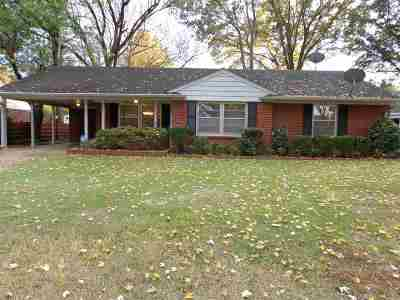 Memphis Single Family Home For Sale: 4815 Dee