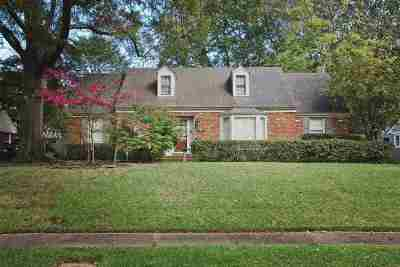 Memphis Single Family Home For Sale: 5355 Knollwood