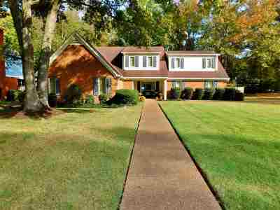 Collierville Single Family Home Contingent: 3360 N Beaver Run