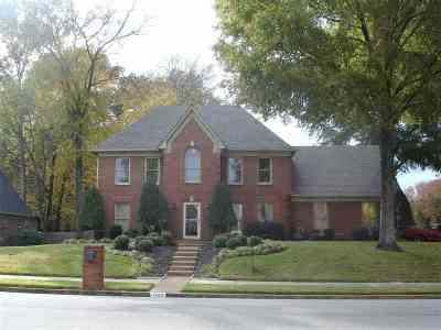 Memphis Single Family Home For Sale: 1465 Fox Trace