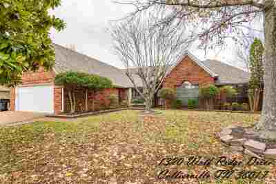 Collierville Single Family Home For Sale: 1320 Wolf Ridge