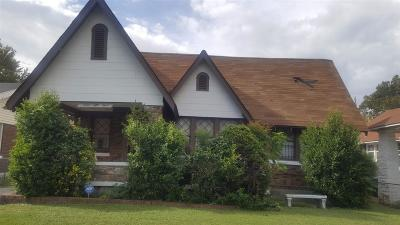 Memphis Single Family Home For Sale: 1253 S Barksdale
