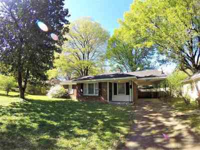 Memphis Single Family Home For Sale: 4666 Leatherwood