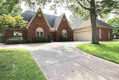 Collierville Single Family Home For Sale: 2820 W Levee Oaks