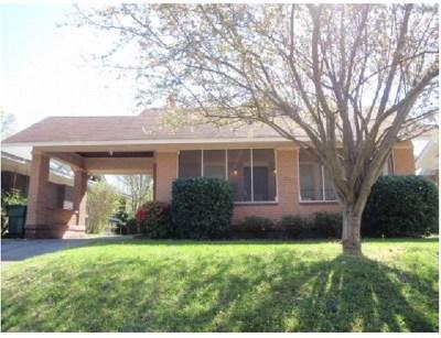 Memphis TN Single Family Home For Sale: $223,000