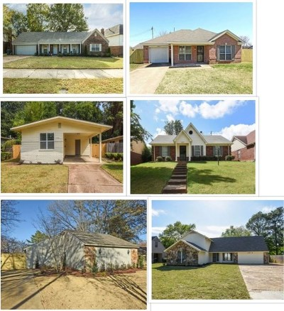 Memphis Single Family Home For Sale: 2413 Ridgeway