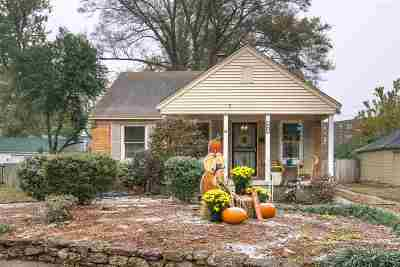 Memphis Single Family Home For Sale: 968 McEvers