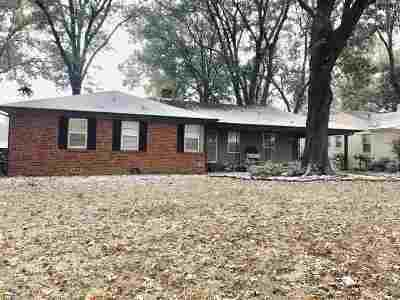 Memphis TN Single Family Home For Sale: $214,900