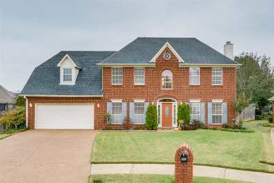 Collierville Single Family Home Contingent: 306 Wolf Lair