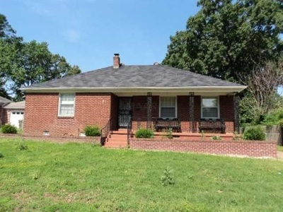 Memphis Single Family Home For Sale: 1171 Mt Moriah