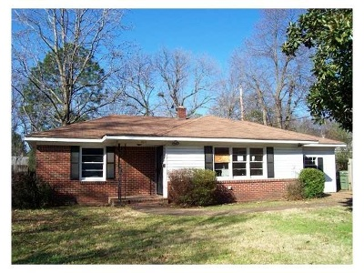 Memphis Single Family Home For Sale: 1611 Mt Moriah