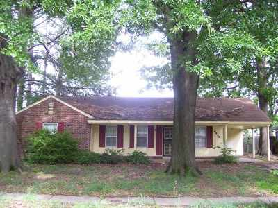 Memphis Single Family Home For Sale: 2938 Churchill