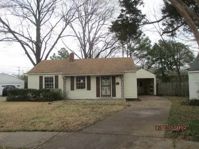 Memphis Single Family Home For Sale: 3932 Pleasant