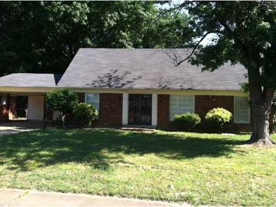 Memphis Single Family Home For Sale: 5375 Cottonwood