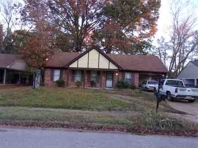 Memphis Single Family Home For Sale: 3286 Keystone