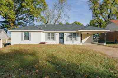 Memphis Single Family Home For Sale: 3297 Brevard