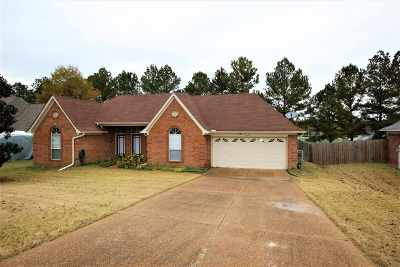 Collierville Single Family Home Contingent: 1514 Wolf Ridge