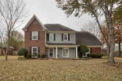 Collierville Single Family Home Contingent: 613 Heather Lake