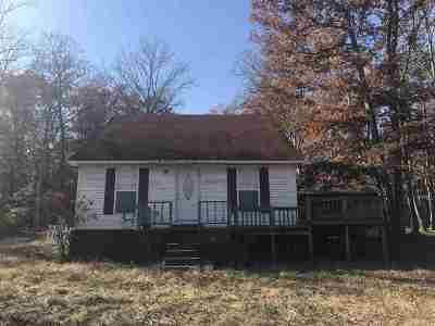 Savannah TN Single Family Home For Sale: $114,900