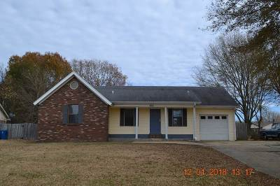 Munford Single Family Home Contingent: 486 Dacus