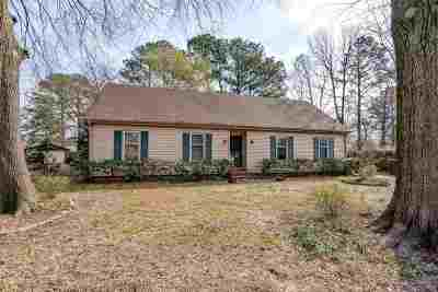Memphis Single Family Home For Sale: 2348 Syon
