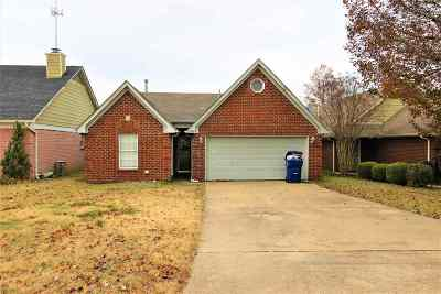 Horn Lake MS Single Family Home For Sale: $119,900