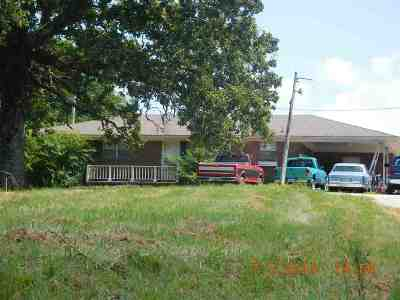 Booneville MS Single Family Home For Sale: $64,000